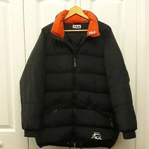 Vintage Unisex Fila Down Puffer Jacket Sz M